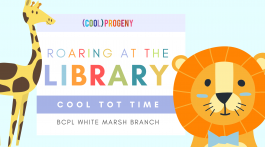 COOL TOT TIME   Roaring Into The Library