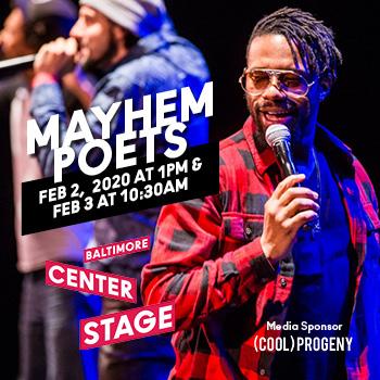 Mayhem Poets at Center Stage