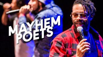 Mayhem Poets at Baltimore Center Stage