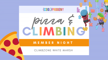 MEMBER NIGHT | Pizza and Climbing at White Marsh