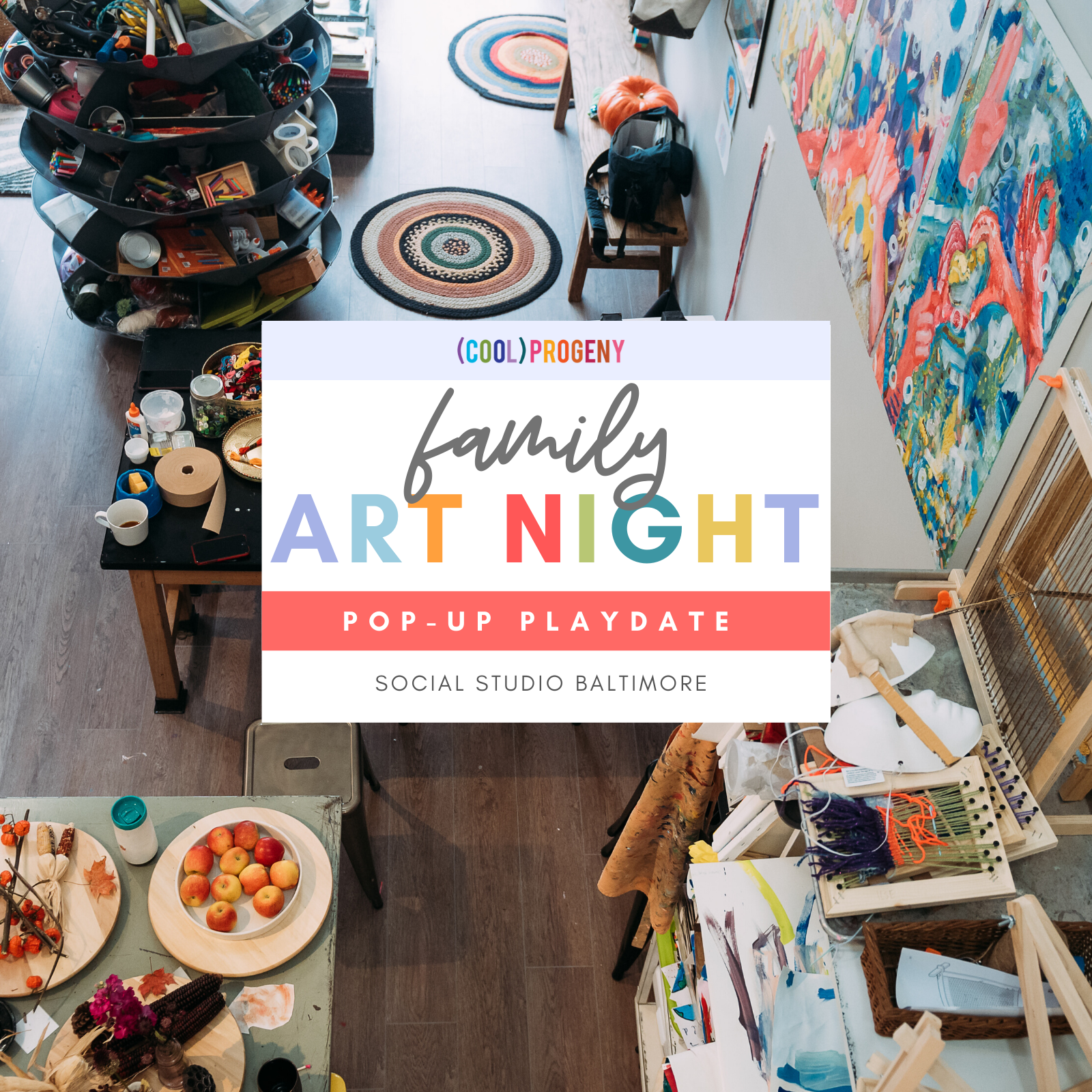 Family Art Night | Pop-Up Play Date