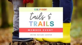 Tails and Trails at Irvine Nature Center