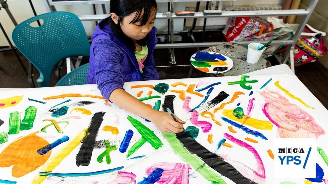 CAMP SPOTLIGHT | MICA Young People's Studio Art Camp