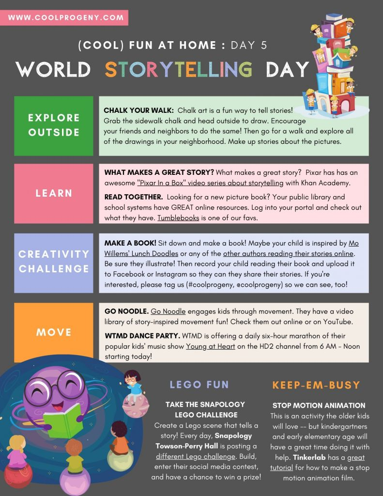 DAY Five - World Storytelling