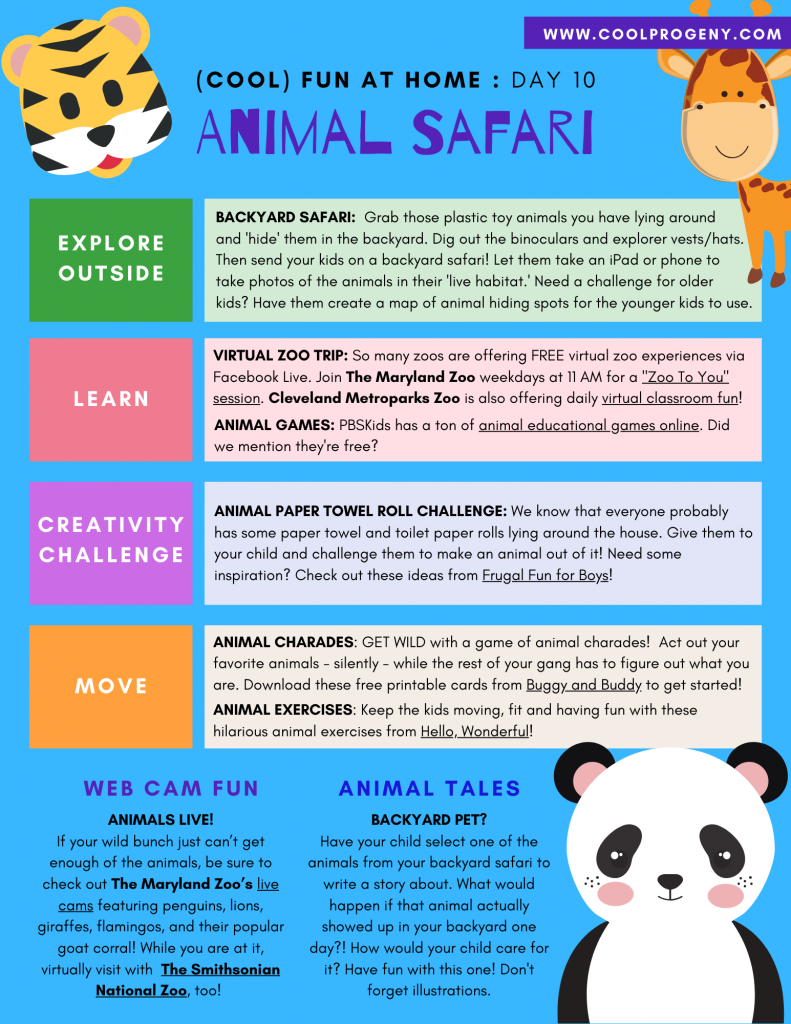 DAY TEN - Animal Safari