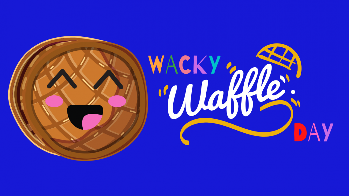 SITE HEADER - DAY EIGHT - Wacky Waffle