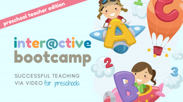 Interactive Bootcamp: Preschool Edition