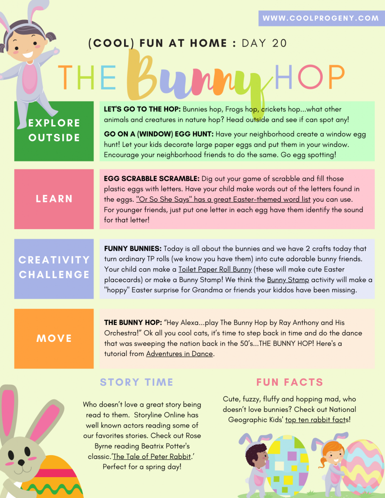 Cool Fun at Home: All About the Bunny