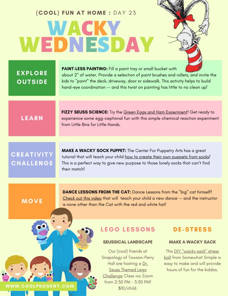 Day 23 - Wacky Dr. Seuss Fun for Kids