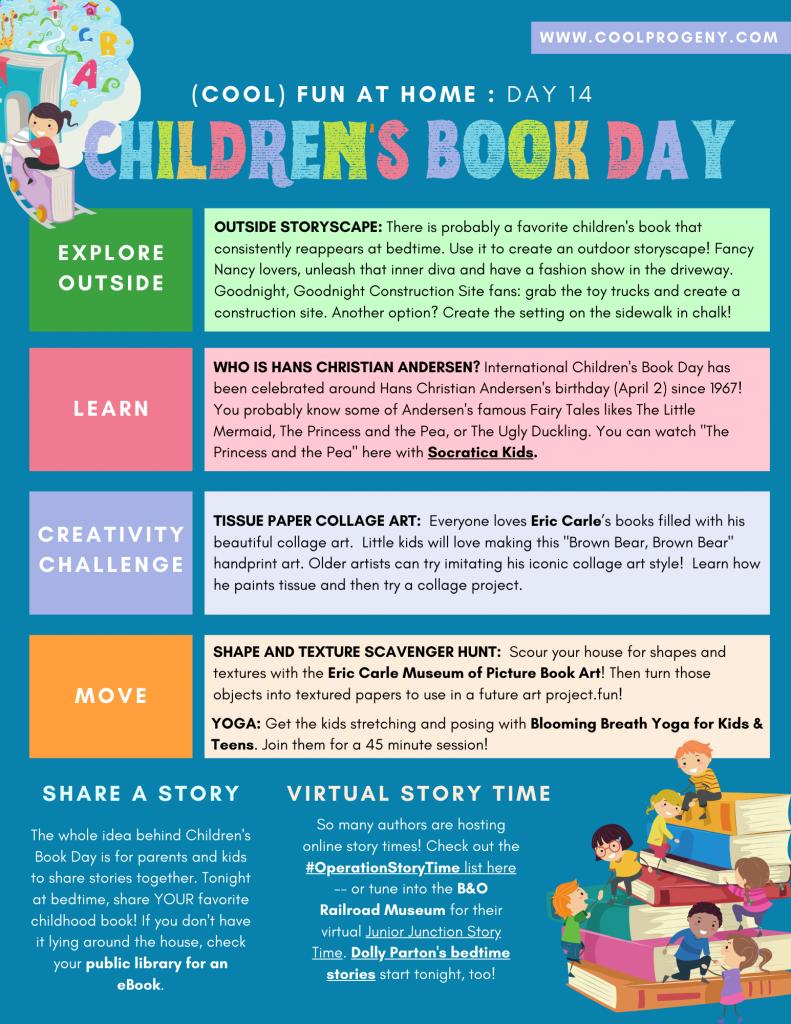 DAY FOURTEEN - Children's Book Day