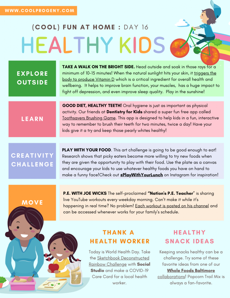 COOL FUN AT HOME | Healthy Kids