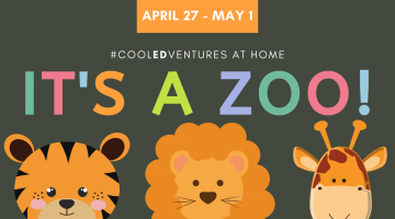 Cool Edventures: It's a Zoo! Week