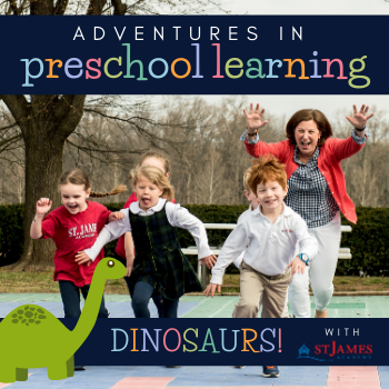 Adventures in Preschool Learning: DINOSAURS!