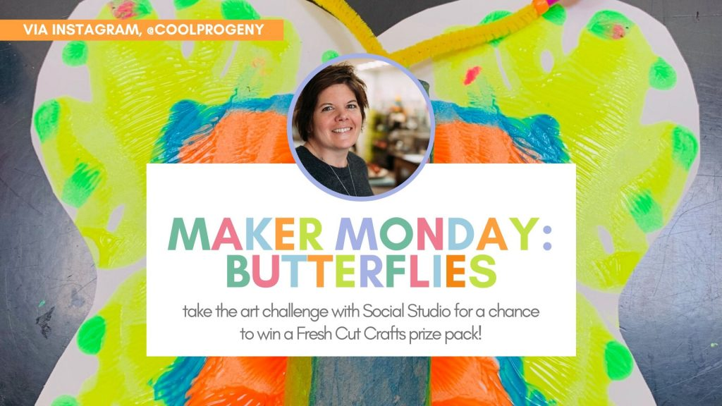 Cool EDventures: Maker Monday Butterflies