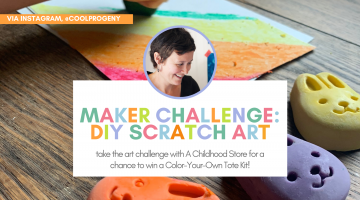 Maker Challenge: DIY Scratch Board Art