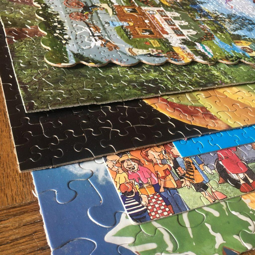 Puzzles: Photo by Shoshana Fishbein