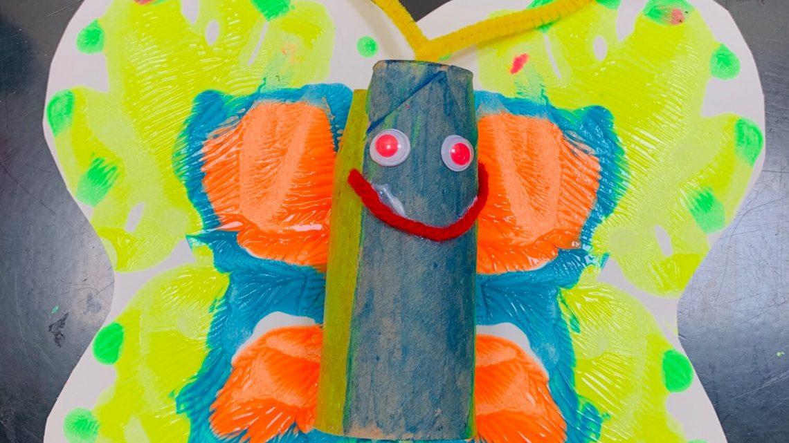 Maker Monday: Butterfly Art for Kids