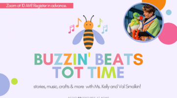 Buzzing Beats Tot Time