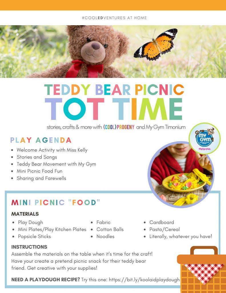 Teddy Bear Picnic Tot Time