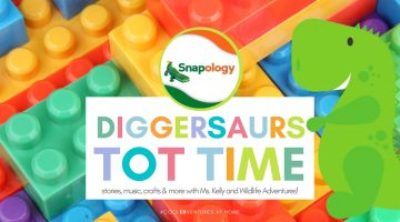 Diggersaurus Tot Time
