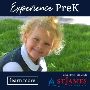 Experience PreK at St. James Academy