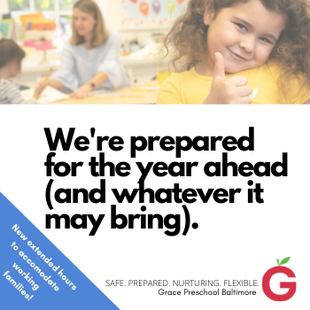 GRACE PRESCHOOL PREPARED SIDE BAR AD