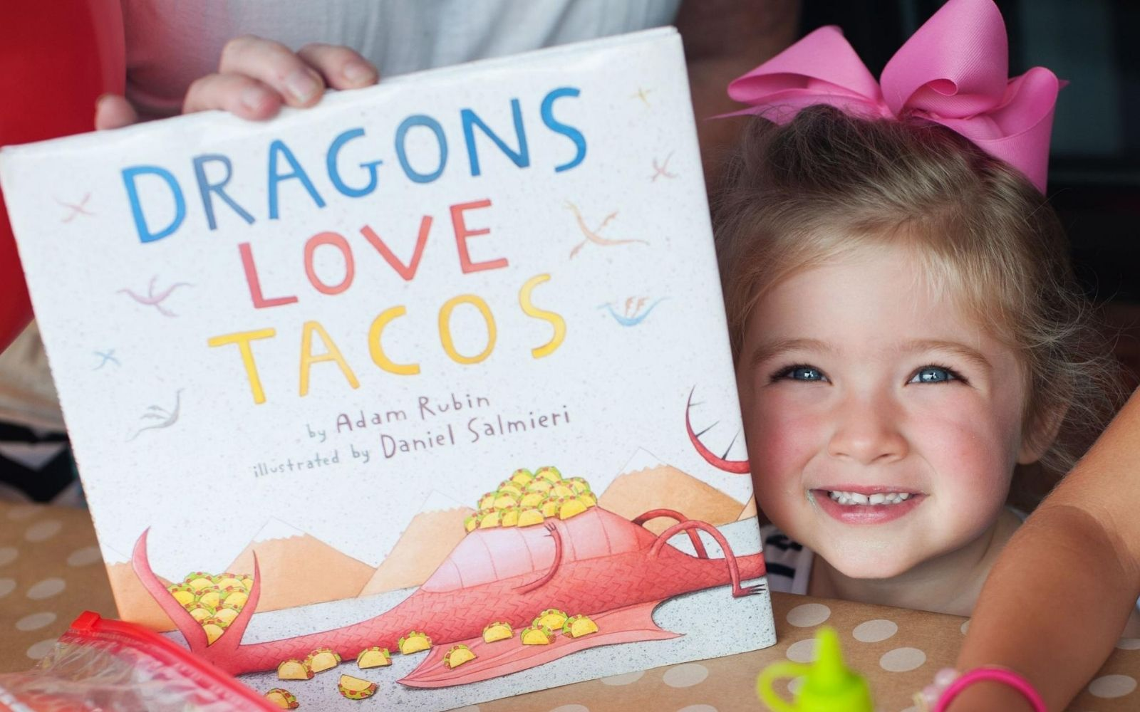 Dragons Live Tacos - Copyright @CoolProgeny