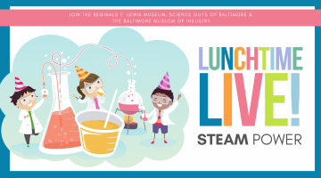 LUNCHTIME LIVE _ STEAM Power