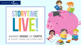 Storytime LIVE | Making Sense of Cents