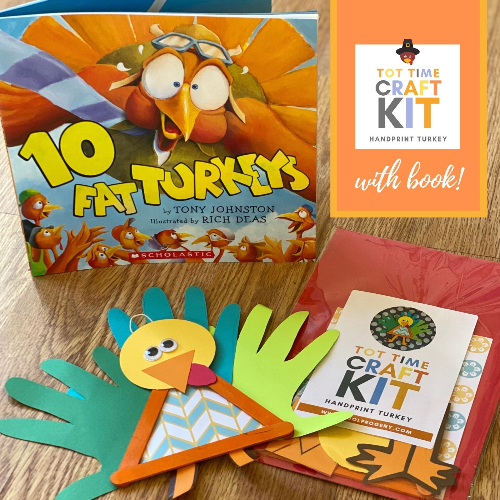 Craft and Book Kit - Turkey