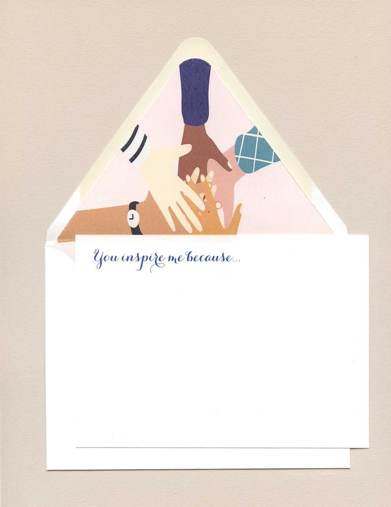 Who Inspires You Notecards