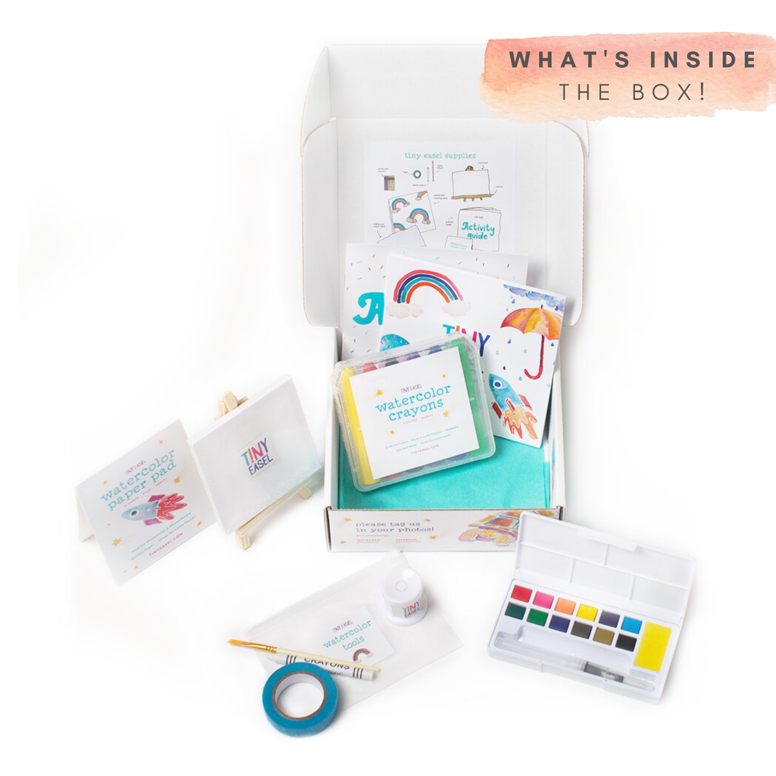 Tiny Easel Art Box