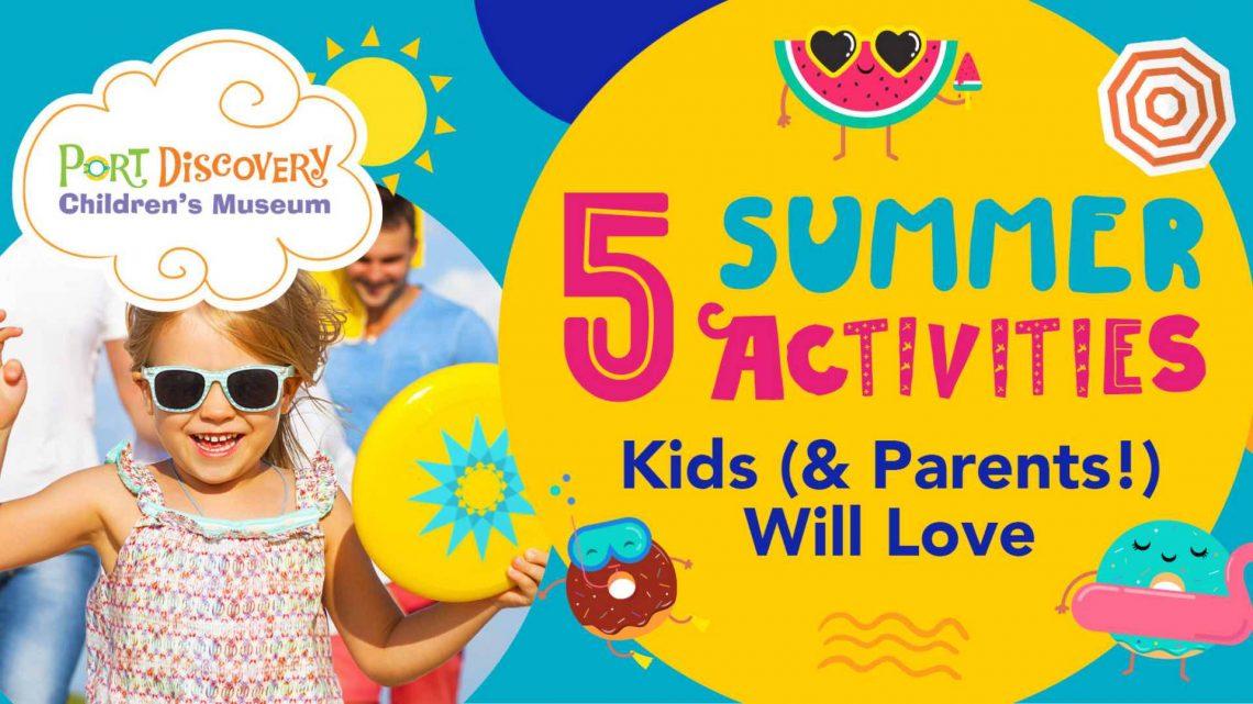 5 Summer Activities - 1920 x 1080