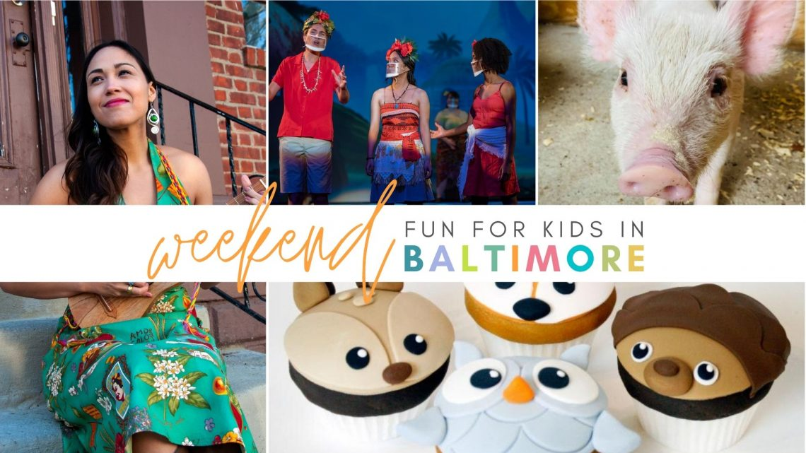 Weekend Fun for Kids in Baltimore - August 13-15