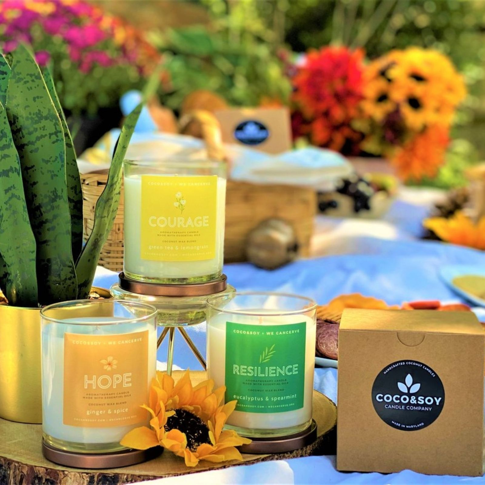 Moments of Grace Candle Collection