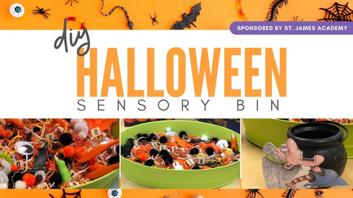 HEADER - DIY Halloween Sensory Bin